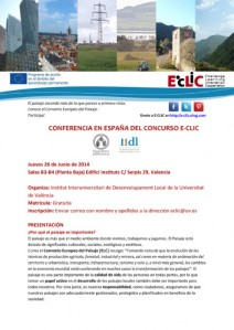 E-CLIC_Convocatoria Conferencia