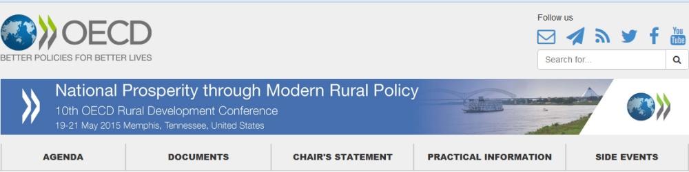 Joan Noguera participa en la 10ª Conferencia de la OCDE sobre Desarrollo Rural
